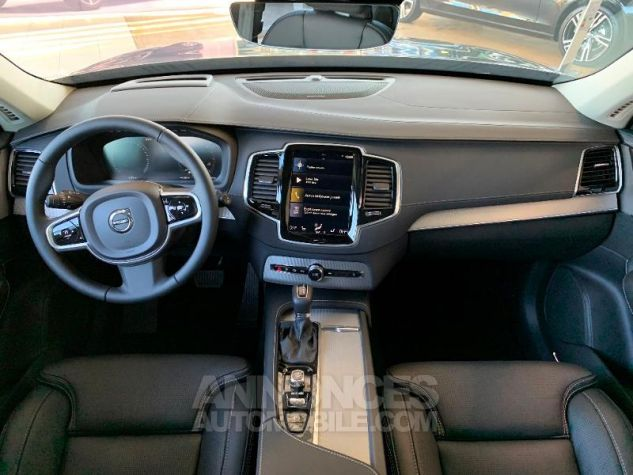 Volvo XC90 D5 AdBlue AWD 235ch Inscription Luxe Geartronic 7 places Gris Epicea Neuf - 4