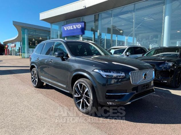 Volvo XC90 D5 AdBlue AWD 235ch Inscription Luxe Geartronic 7 places Gris Savile Metal Neuf - 0