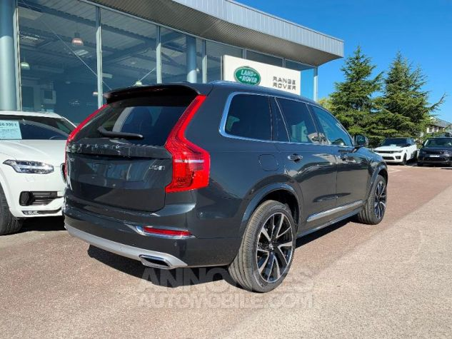 Volvo XC90 D5 AdBlue AWD 235ch Inscription Luxe Geartronic 7 places Gris Savile Metal Neuf - 2