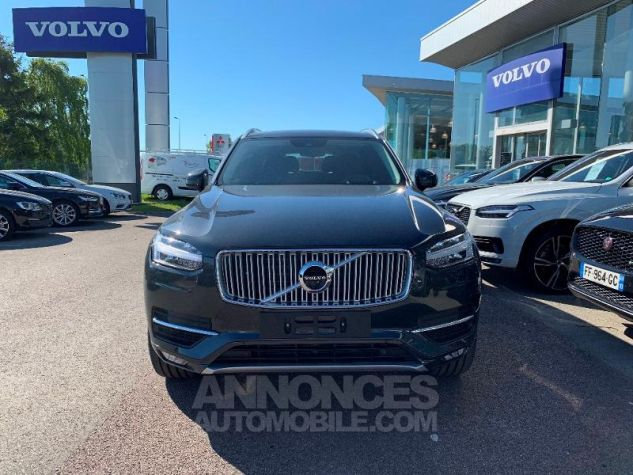 Volvo XC90 D5 AdBlue AWD 235ch Inscription Luxe Geartronic 7 places Gris Savile Metal Neuf - 6