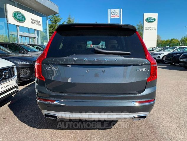 Volvo XC90 D5 AdBlue AWD 235ch Inscription Luxe Geartronic 7 places Gris Savile Metal Neuf - 8