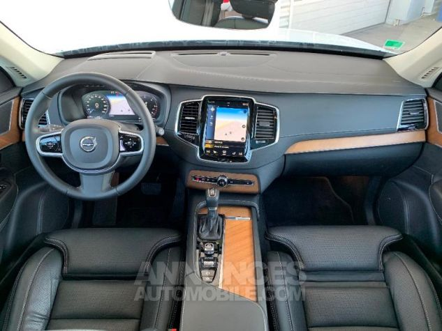 Volvo XC90 D5 AdBlue AWD 235ch Inscription Luxe Geartronic 7 places Blanc Cristal Occasion - 3