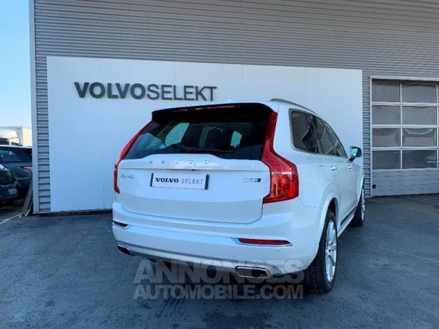 Volvo XC90 D5 AdBlue AWD 235ch Inscription Luxe Geartronic 7 places Blanc Cristal Occasion - 6
