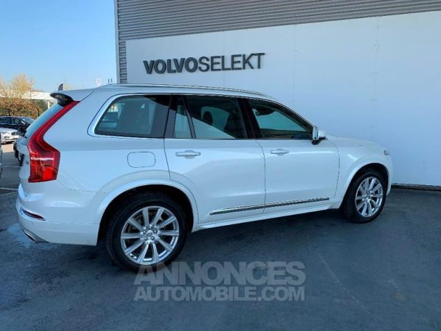 Volvo XC90 D5 AdBlue AWD 235ch Inscription Luxe Geartronic 7 places Blanc Cristal Occasion - 7
