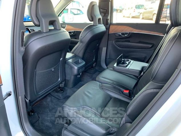 Volvo XC90 D5 AdBlue AWD 235ch Inscription Luxe Geartronic 7 places Blanc Cristal Occasion - 10