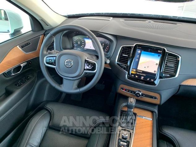Volvo XC90 D5 AdBlue AWD 235ch Inscription Luxe Geartronic 7 places Blanc Cristal Occasion - 11
