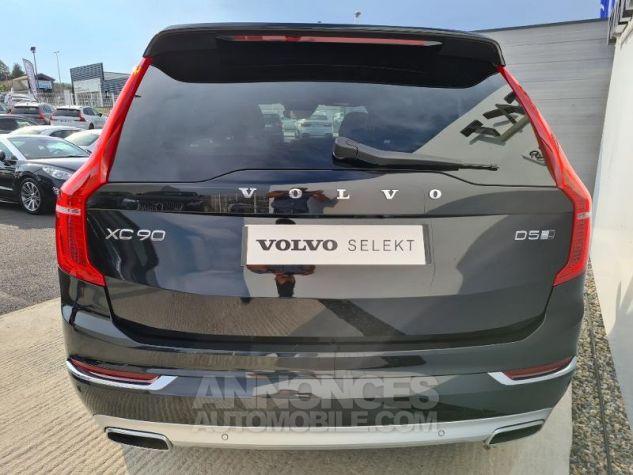 Volvo XC90 D5 AdBlue AWD 235ch Inscription Luxe Geartronic 7 places Noir Métal Occasion - 8