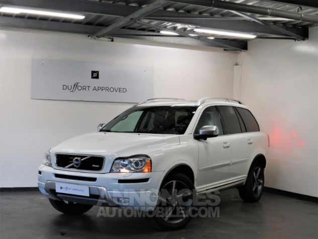 Volvo XC90 D5 AWD 200ch R-Design Geartronic 7 places Blanc Occasion - 0