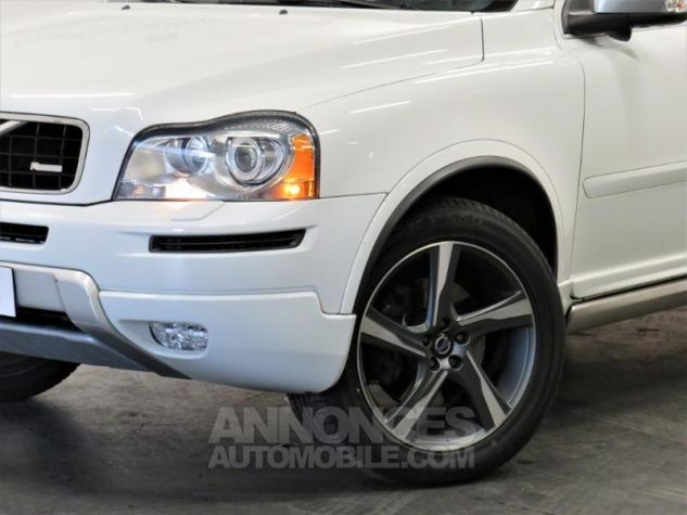 Volvo XC90 D5 AWD 200ch R-Design Geartronic 7 places Blanc Occasion - 1