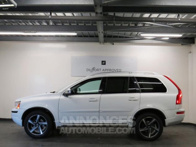Volvo XC90 D5 AWD 200ch R-Design Geartronic 7 places Blanc Occasion - 19