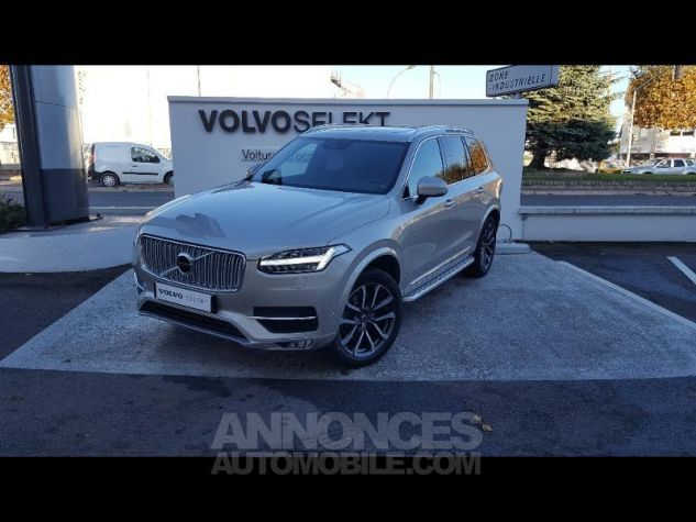 Volvo XC90 D5 AWD 225ch Inscription Geartronic 7 places SABLE LUMINEUX Occasion - 0