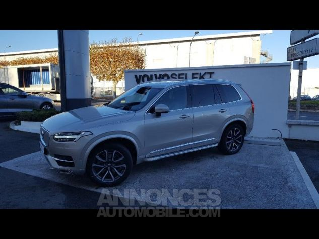 Volvo XC90 D5 AWD 225ch Inscription Geartronic 7 places SABLE LUMINEUX Occasion - 1