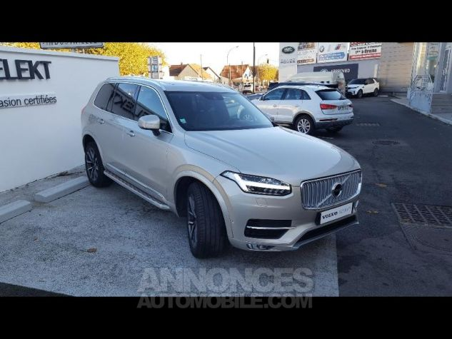 Volvo XC90 D5 AWD 225ch Inscription Geartronic 7 places SABLE LUMINEUX Occasion - 2