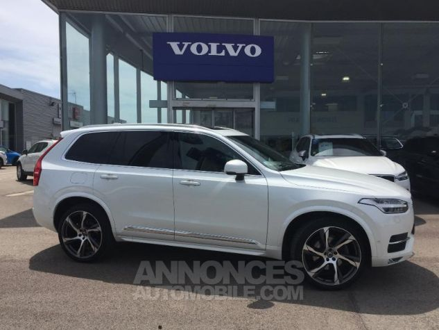 Volvo XC90 D5 AWD 225ch Inscription Luxe Geartronic 7 places blanc Occasion - 0