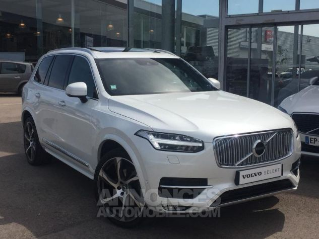 Volvo XC90 D5 AWD 225ch Inscription Luxe Geartronic 7 places blanc Occasion - 1