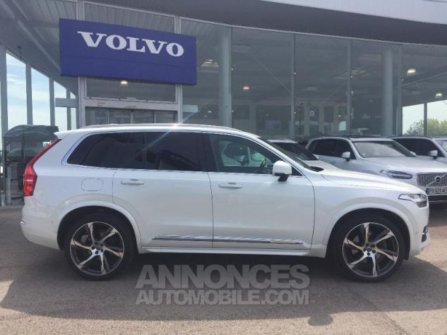 Volvo XC90 D5 AWD 225ch Inscription Luxe Geartronic 7 places blanc Occasion - 2