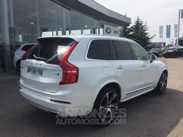 Volvo XC90 D5 AWD 225ch Inscription Luxe Geartronic 7 places blanc Occasion - 3