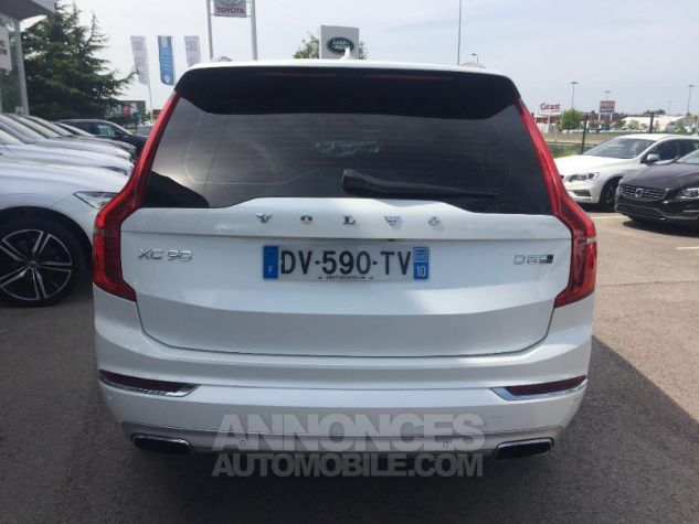 Volvo XC90 D5 AWD 225ch Inscription Luxe Geartronic 7 places blanc Occasion - 4