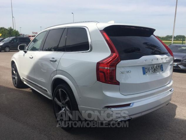 Volvo XC90 D5 AWD 225ch Inscription Luxe Geartronic 7 places blanc Occasion - 5