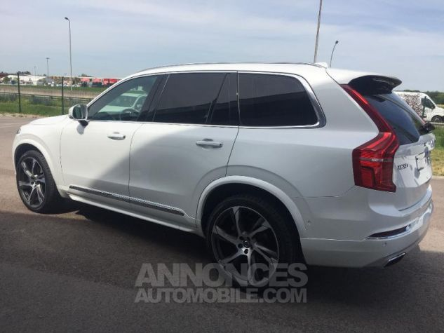 Volvo XC90 D5 AWD 225ch Inscription Luxe Geartronic 7 places blanc Occasion - 6