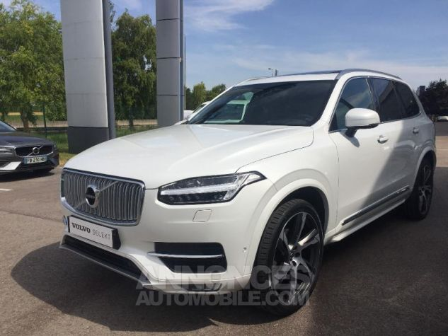 Volvo XC90 D5 AWD 225ch Inscription Luxe Geartronic 7 places blanc Occasion - 7