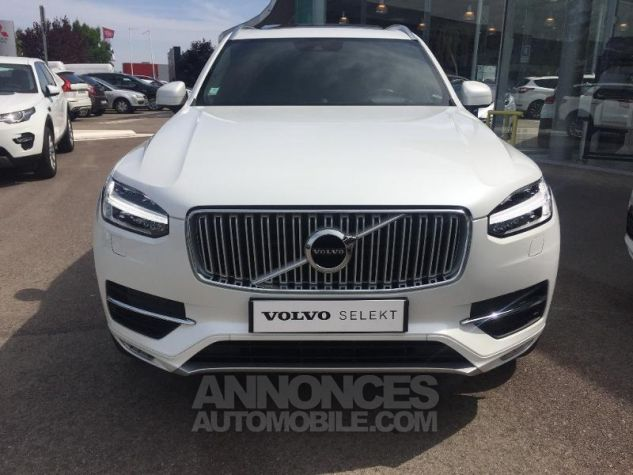 Volvo XC90 D5 AWD 225ch Inscription Luxe Geartronic 7 places blanc Occasion - 8