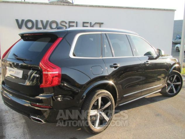 Volvo XC90 D5 AWD 225ch R-Design Geartronic 7 places Noir Onyx Occasion - 1