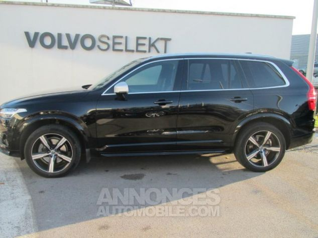 Volvo XC90 D5 AWD 225ch R-Design Geartronic 7 places Noir Onyx Occasion - 2