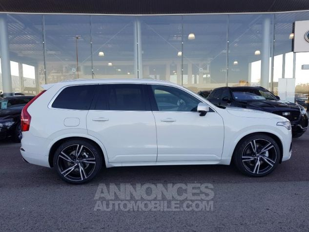 Volvo XC90 D5 AWD 235ch R-Design Geartronic 7 places Blanc Glace Neuf - 1