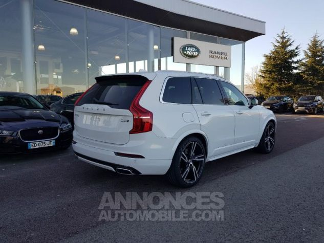 Volvo XC90 D5 AWD 235ch R-Design Geartronic 7 places Blanc Glace Neuf - 2