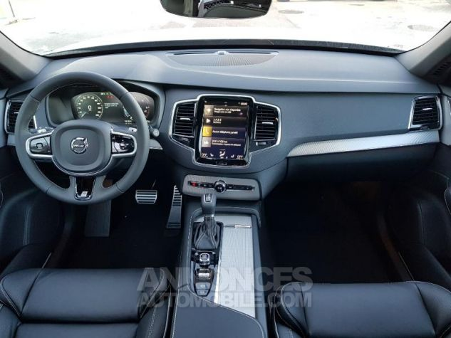 Volvo XC90 D5 AWD 235ch R-Design Geartronic 7 places Blanc Glace Neuf - 4