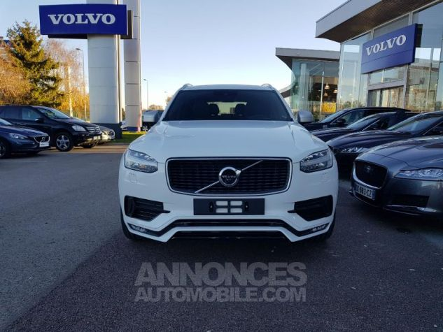 Volvo XC90 D5 AWD 235ch R-Design Geartronic 7 places Blanc Glace Neuf - 6