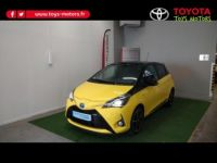 Toyota Yaris 100h Collection Jaune 5p - <small></small> 17.990 € <small>TTC</small> - #2