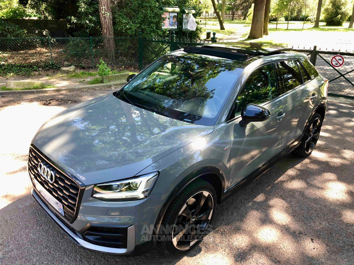 audi q2 2l tfsi 190ch quattro s tronic launch edition gris. Black Bedroom Furniture Sets. Home Design Ideas