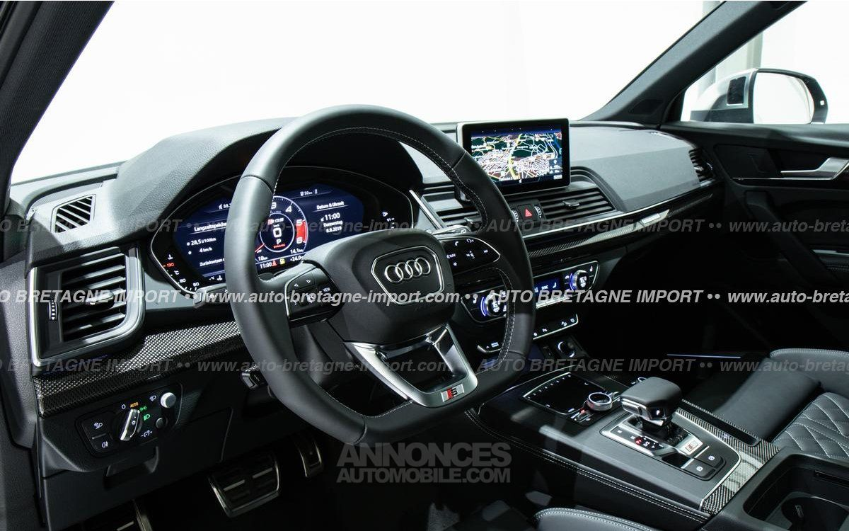 Audi SQ5 V6 TDI 347 FULL OPTIONS (Pano, air suspension, HdUp, B&O, Matrix LED, cuir, 360, pack black...) 2019 - <small></small> 84.644 € <small>TTC</small> - #6