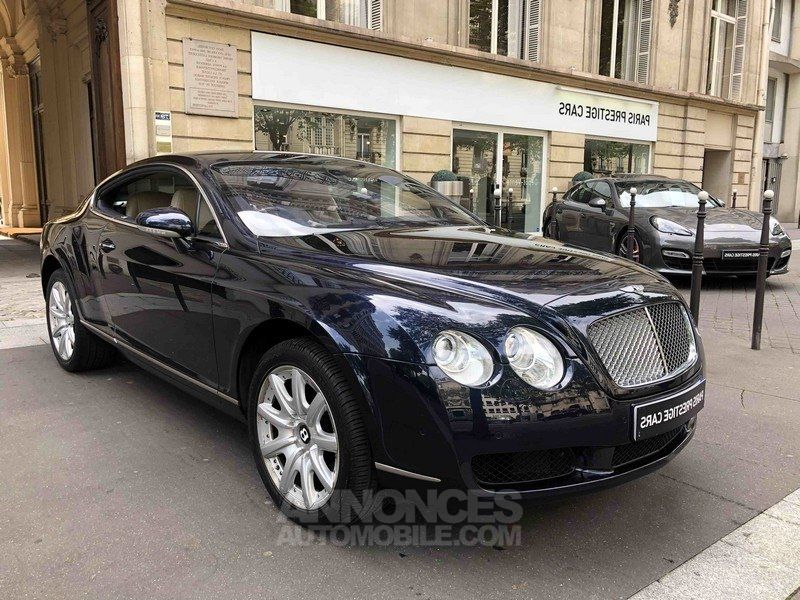 bentley continental gt 560 ch bleu nuit occasion paris paris 75 n 3956025. Black Bedroom Furniture Sets. Home Design Ideas