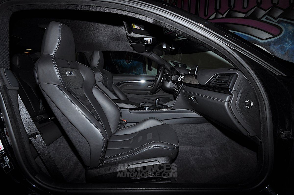 bmw m4 431 dkg7 noir metal occasion cannes 6 alpes maritimes n 4042139 annonces automobile. Black Bedroom Furniture Sets. Home Design Ideas