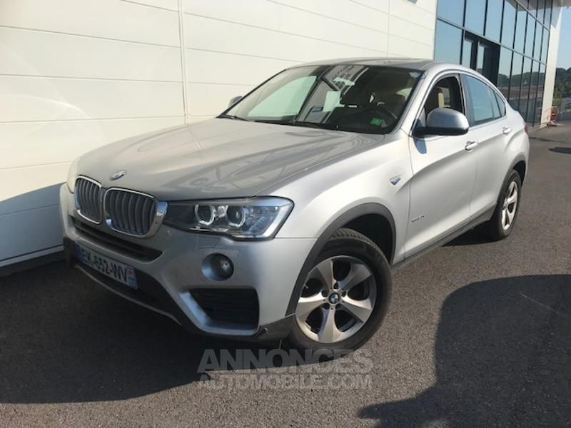bmw x4 xdrive30da 258ch lounge plus glaciersilber metallise occasion fr jus 83 var n. Black Bedroom Furniture Sets. Home Design Ideas