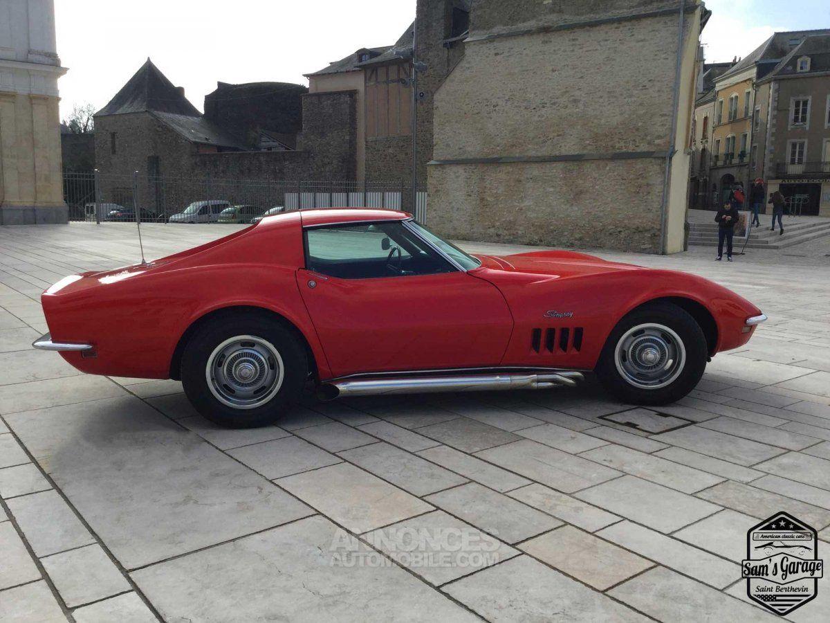 chevrolet corvette c3 stingray v8 1968 bm4 rouge occasion laval 53 mayenne n 3591039. Black Bedroom Furniture Sets. Home Design Ideas