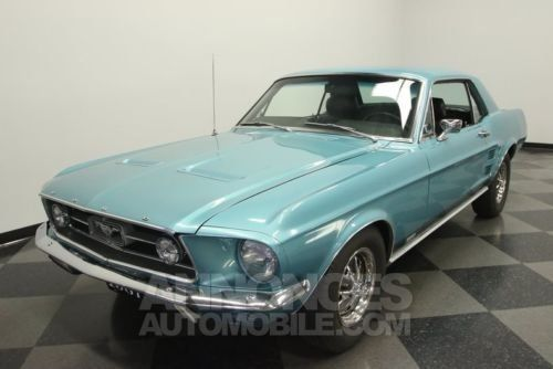 ford mustang 1967 clearwater aqua occasion paris 75. Black Bedroom Furniture Sets. Home Design Ideas