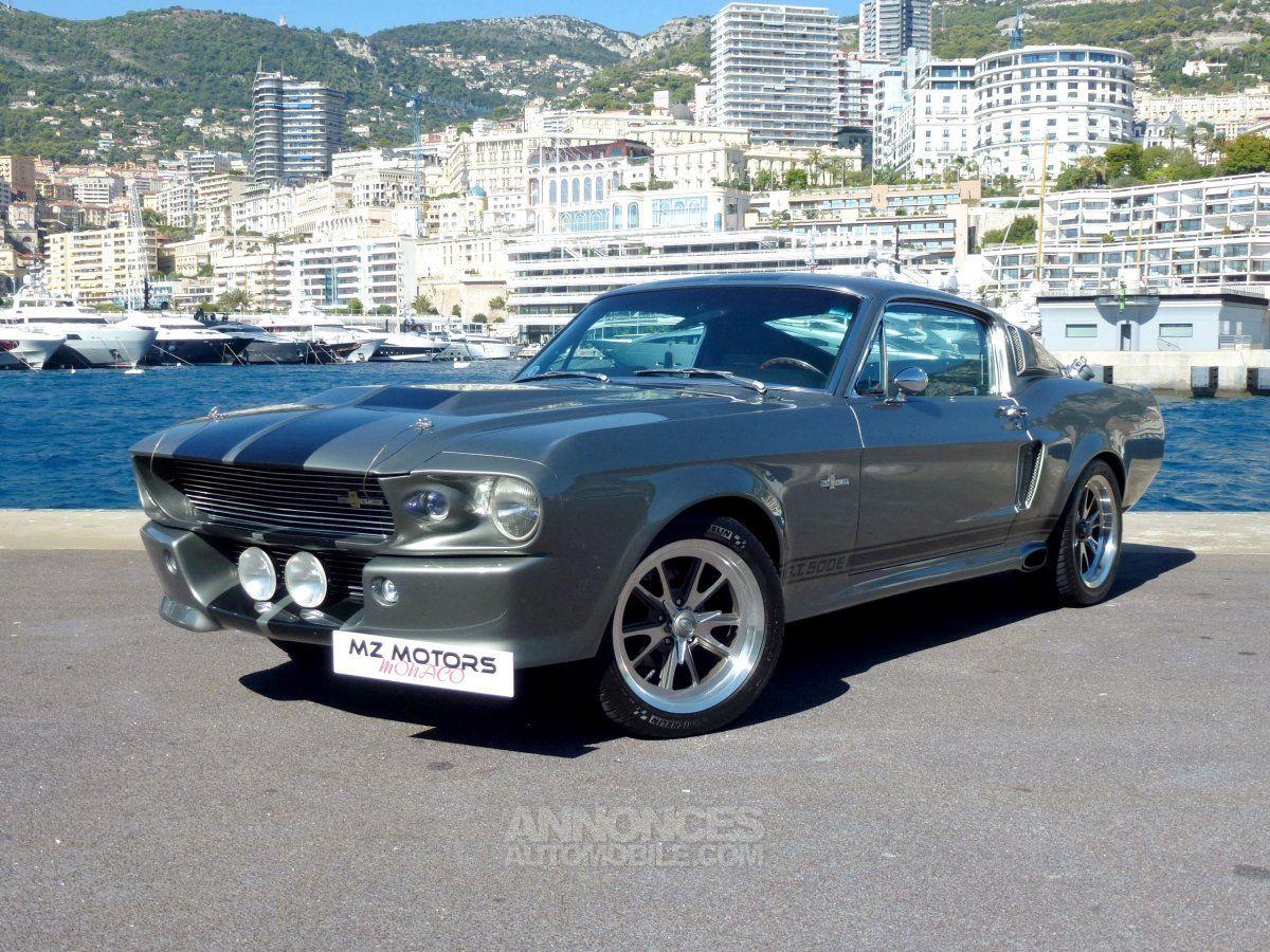 Ford Mustang Eleanor >> En Vente Ford Mustang Gt 500 Eleanor 455 Cv 01 1967 2 200km Au Prix De 139 900 Chez Mz Motors Monaco