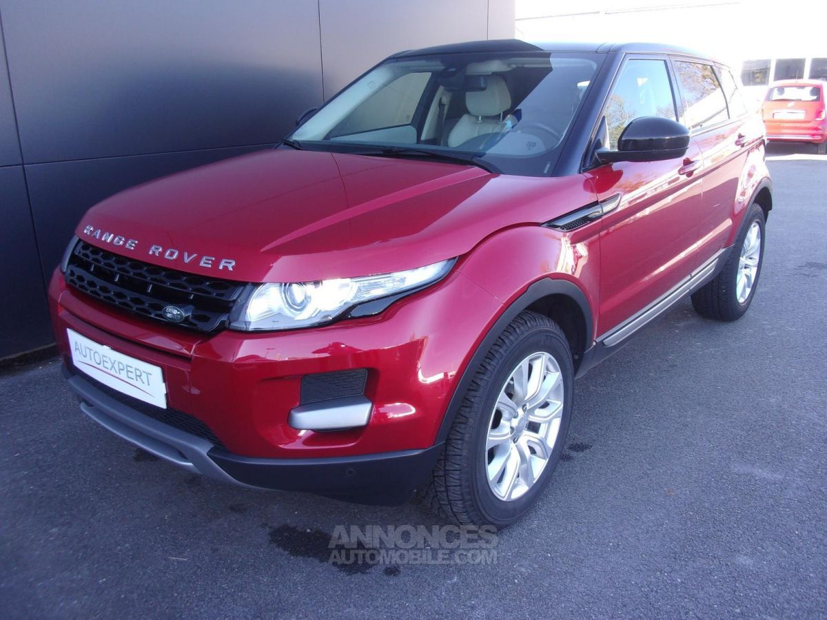 land rover range rover evoque mark ii ed4 dynamic rouge fonce occasion bourges 18 cher n. Black Bedroom Furniture Sets. Home Design Ideas