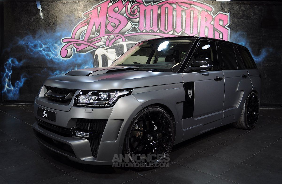 land rover range rover supercharged v8 hamann gris mat occasion cannes 6 alpes maritimes n. Black Bedroom Furniture Sets. Home Design Ideas