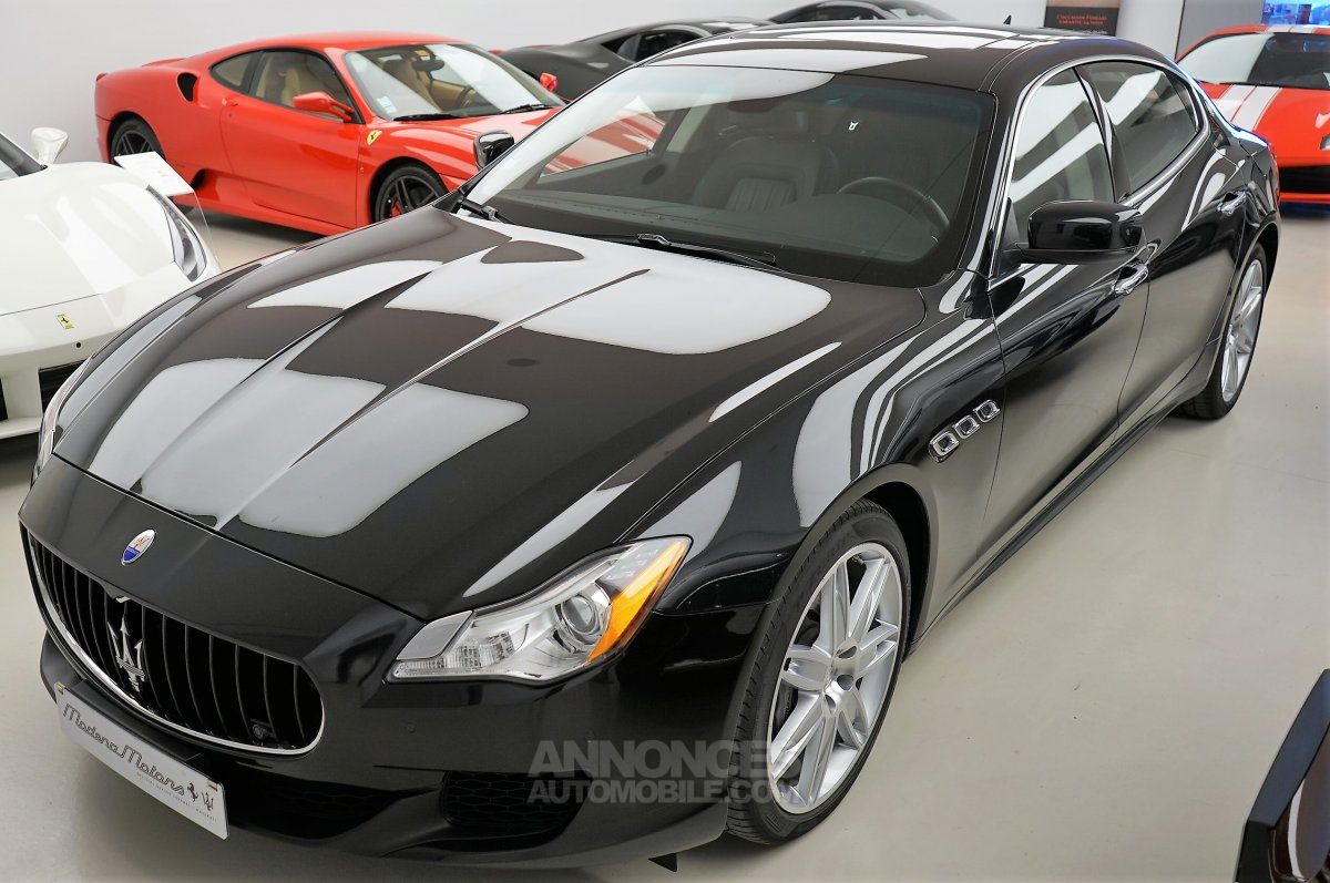 maserati quattroporte diesel noir occasion bischeim 67 bas rhin n 3930349 annonces. Black Bedroom Furniture Sets. Home Design Ideas