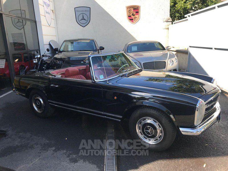 mercedes 230 sl pagode noir metal occasion paris 75 paris n 4007519 annonces automobile. Black Bedroom Furniture Sets. Home Design Ideas