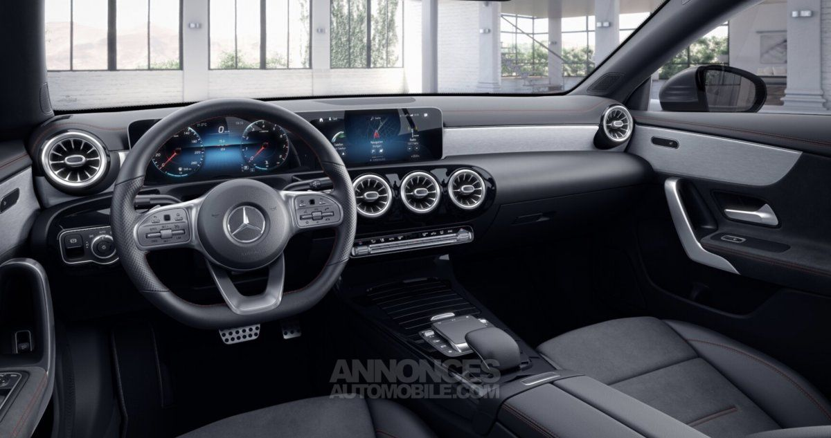 Mercedes CLA 180 Coupé AMG Line 2020 - <small></small> 38.608 € <small>TTC</small> - #6