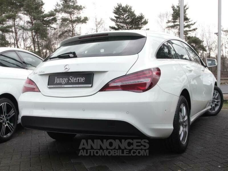 mercedes cla shooting brake 180 d blanc occasion. Black Bedroom Furniture Sets. Home Design Ideas