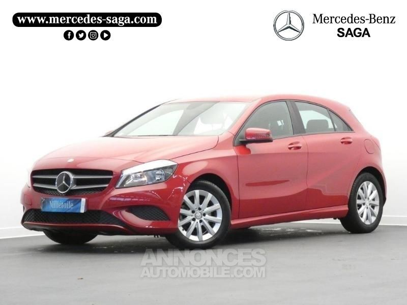 mercedes classe a 200 cdi intuition 7g dct rouge jupiter occasion sallertaine vendee 85 n. Black Bedroom Furniture Sets. Home Design Ideas