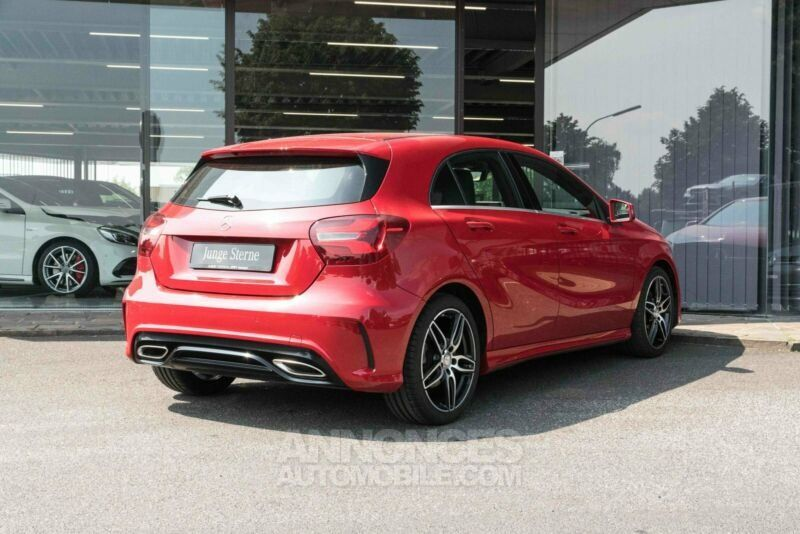 mercedes classe a 200d amg line rouge jupiter occasion. Black Bedroom Furniture Sets. Home Design Ideas