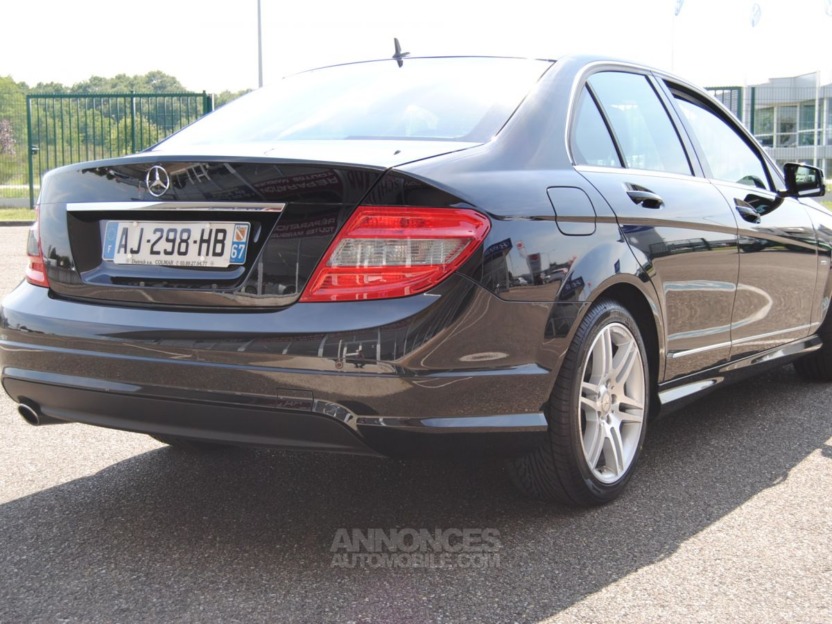 Mercedes Classe C 220 Cdi Amg Blue Efficiency Noir Occasion